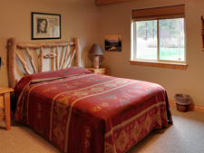 Storm Mountain Cottage Master Bedroom